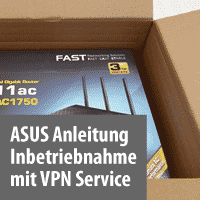 ASUS Router Anleitung mit VPN