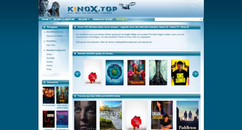 Alternative Zu Kinox.To