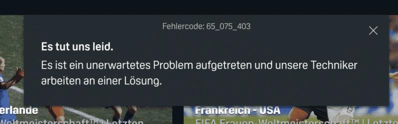 Fehlercode 65_075_403