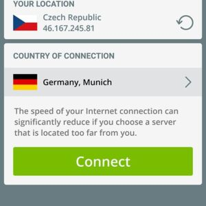 Now you just have to connect to your desired server.