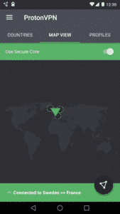 ProtonVPN Secure Core
