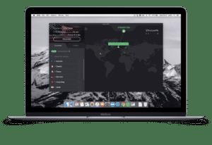 ProtonVPN Secure Core mac view