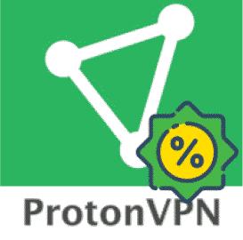 PrótonVPN ➠ Ano 1 por apenas US $ 96 (apenas US $ 8 por mês)