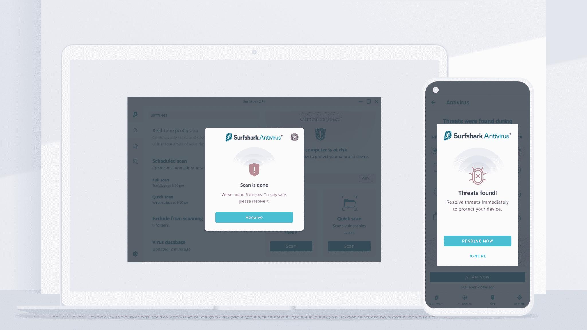 Surfshark Antivirus Android