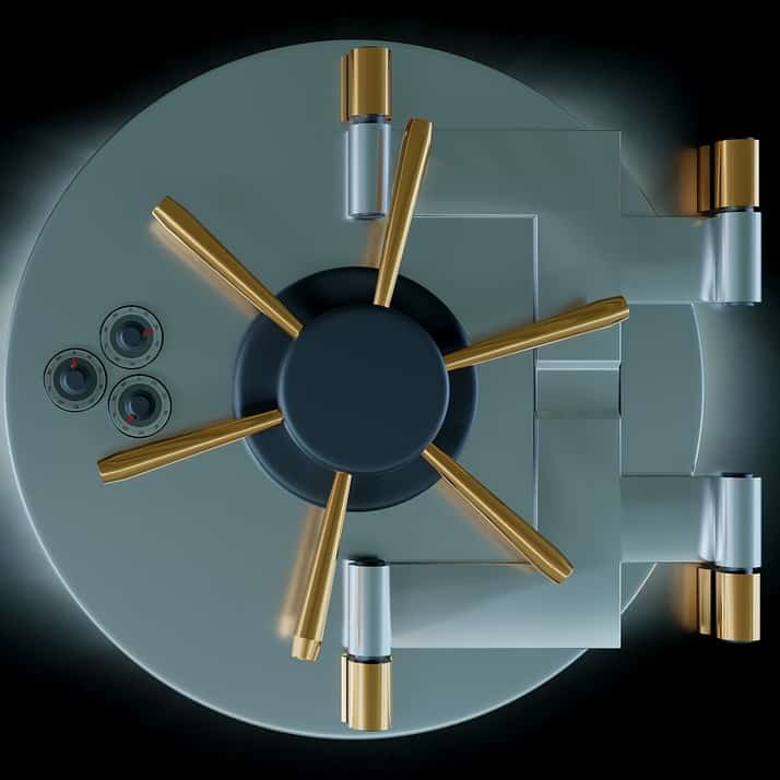 Encryption works like a vault