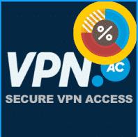 VPN.ac ➠ ano 1 por apenas US $ 58 (US $ 4.8 por mês)