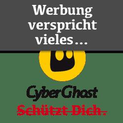 CyberGhost VPN Werbeversprechen