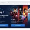 DisneyPlus homepage