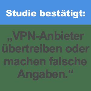 Studie bestätigt: Die meisten VPN Services übertreiben bei eigenen Angaben