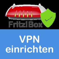 FRITZbox VPN set up