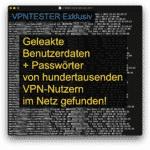 Geleakte VPN Konten im Internet gefunden