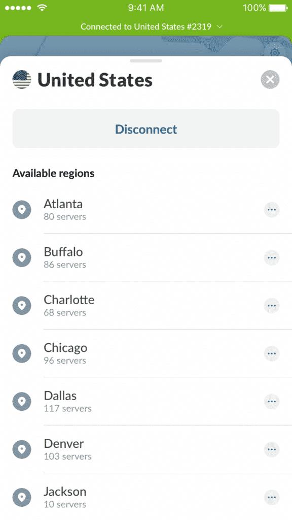 Miasta iOS