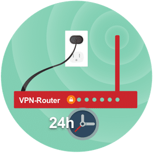VPN use on router at home! 4