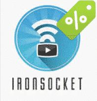 IronSocket VPN - Ano 1 apenas por US $ 49.95 (US $ 4.16 / mês)