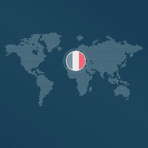Mit Frankreich verbunden