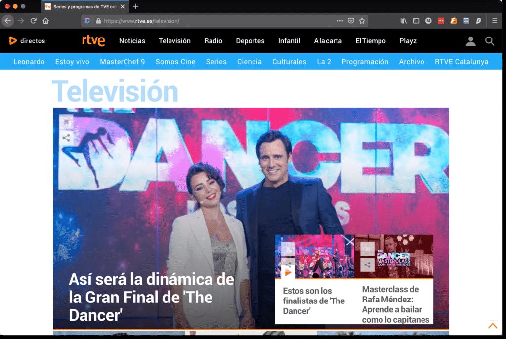 Spanische TV Sender (RTVE) in Deutschland sehen. 4