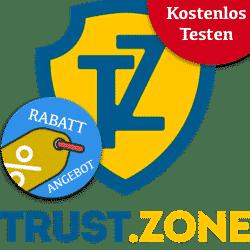 Trust.Zone - ano 1 por apenas € 35.99 (€ 3 / mês)