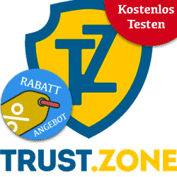 Trust.Zone - 1 year for only € 35.99 (€ 3 / month)