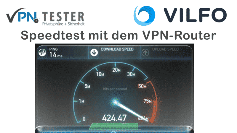 Vilfo - The fastest VPNRouter for home users 3