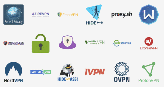 preconfigured VPN-Services