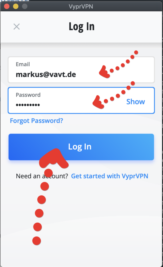 VyprVPN Aplikacja 02