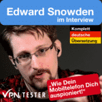 Edward Snowden interview in German