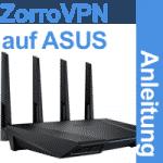 Anleitung ZorroVPN auf ASUS Router